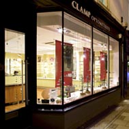 Clamp Opticians, Cambridge